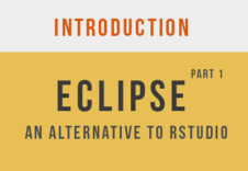 Eclipse-RStudio-part 1
