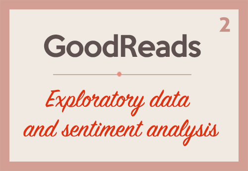 GoodReads: Exploratory data analysis and sentiment analysis (Part 2)