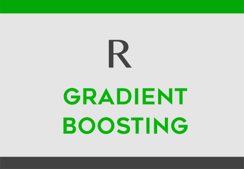 gradient boosting in r datascience