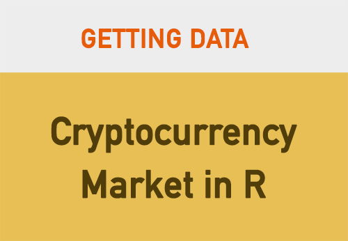 Analysing Cryptocurrency Market in R