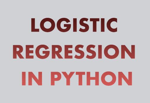 Building A Logistic Regression in Python, Step by Step   DataScience+