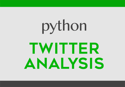 Twitter Analysis with Python | DataScience+