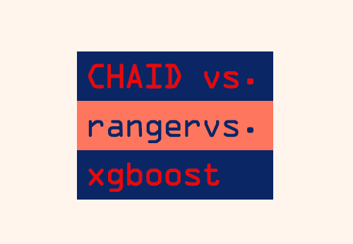 CHAID vs  ranger vs  xgboost — a comparison | DataScience+