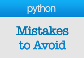 Common Mistakes to Avoid When Learning to Code in Python