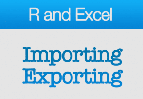 Use R with Excel: Importing and Exporting Data | DataScience+