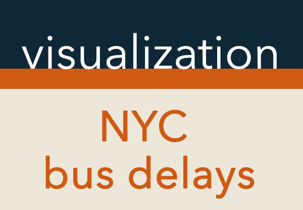 Visualization of NYC bus delays with R   DataScience+