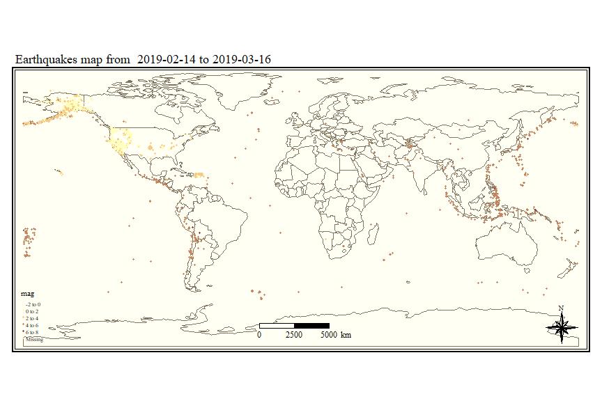 Earthquake Analysis (3/4): Visualizing Data on Maps