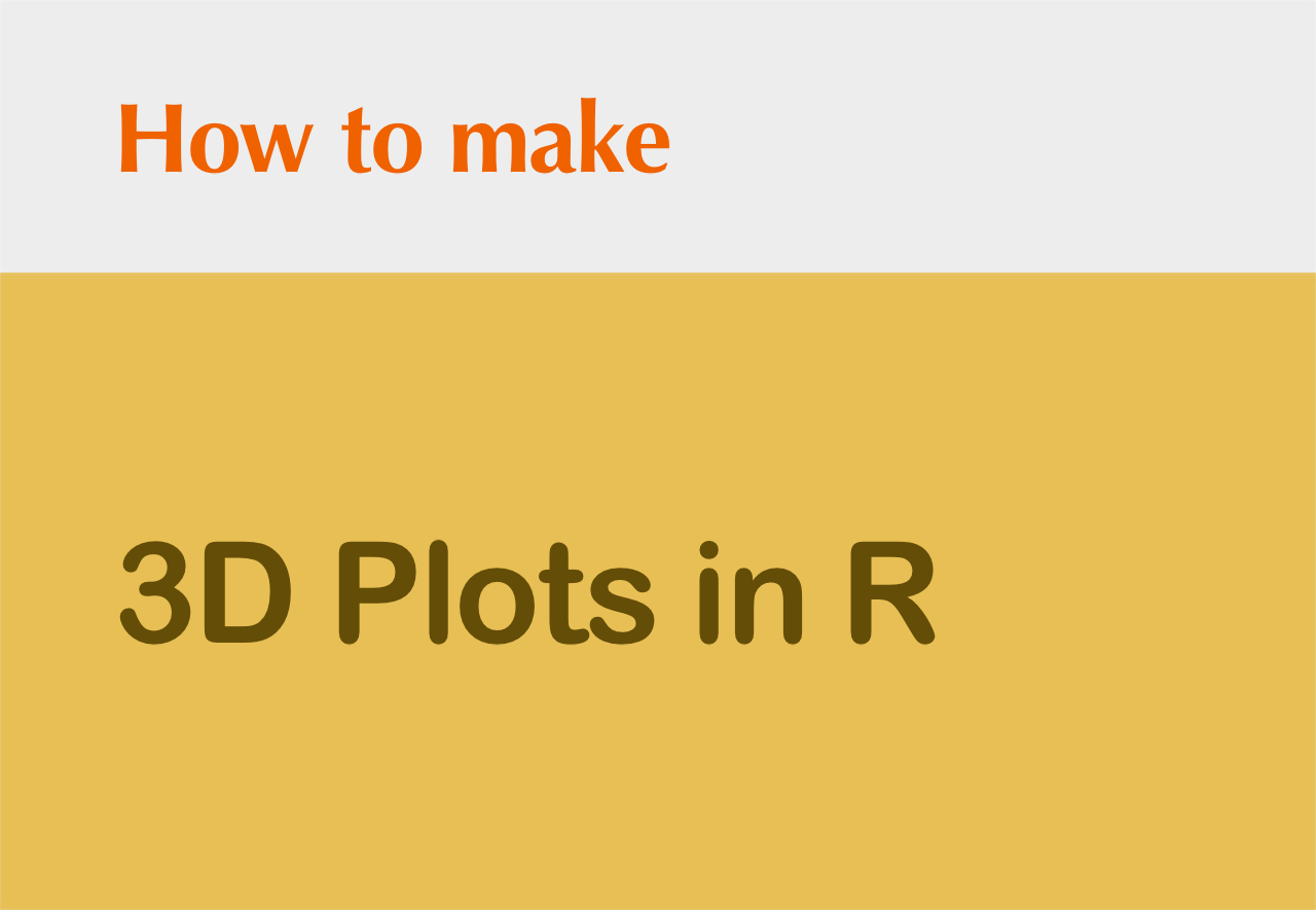 How to make 3D Plots in R (from 2D Plots of ggplot2) | DataScience+